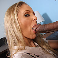 Busty blonde MILF Julia Ann gets pounded by a big black cock from Blacks on Cougars