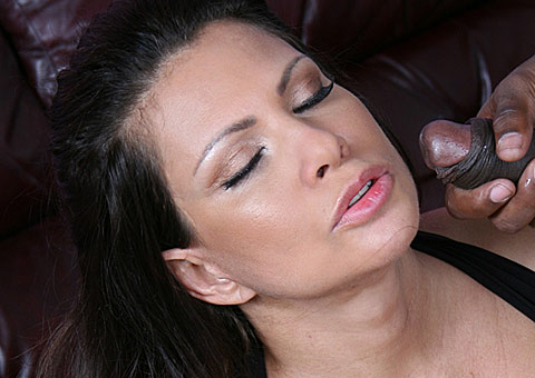 5 Busty mature pornstar Teri Weigel rides a big black cock